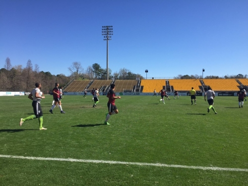 Sounders break camp in South Carolina with lingering health questions