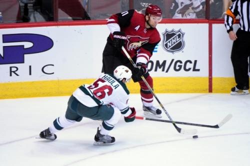 NHL Trade: Arizona Coyotes Trade Martin Hanzal To The Minnesota Wild