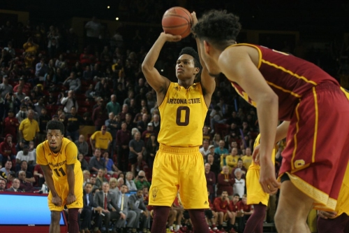 ASU Basketball: USC Photo Gallery