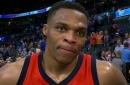 Russell Westbrook on slowing down Pelicans in win