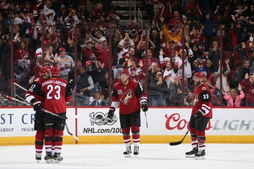 Arizona Coyotes comeback from 2 goals down to defeat Buffalo Sabres
