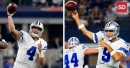 Does size matter? See whether Dak Prescott or Tony Romo's hands are bigger (it's not close), where QBs rank
