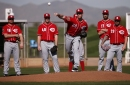 Reds' Anthony DeSclafani scratched from spring debut with elbow soreness