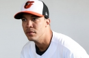 The first televised Orioles spring training game of the year: vs. Yankees, 1:05