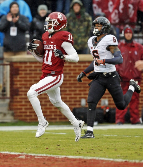 College football: Track the Cowboys and Sooners through NFL Combine testing