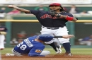 Cleveland Indians 3, Rangers (ss) 2: Carlos Carrasco yields two runs