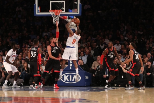 Raptors 92, Knicks 91: Scenes from a much-desired tanking that still managed to hurt