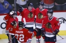Officials seem to miss call against Blackhawks