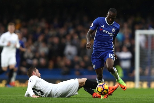 Victor Moses continues to enjoy the season of his life at Chelsea