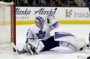 Hertl's late goal leads Sharks past Leafs 3-1