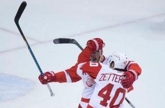 Abdelkader scores in OT, Red Wings beat Canucks 3-2