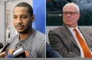 Carmelo Anthony is asking for another talk with Phil Jackson