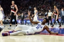 Joel Embiid injury to sideline 76ers center for rest of NBA season