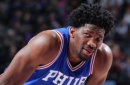 Sixers announce Joel Embiid will miss remainder of the season with knee injury