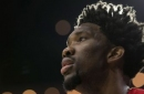 Sixers' Joel Embiid to miss rest of season with meniscus injury