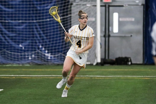 Marquette Women's Lacrosse Sets New Single Game Goals Record Against Kennesaw State