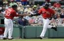 Jackie Bradley Jr., Boston Red Sox CF, belts 2 homers; how many will more muscular JBJ hit in 2017?