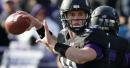 WATCH: Northwestern football's Clayton Thorson, Cam Green hilariously recreate 'the pass'