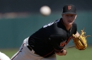 It's early, but Ty Blach sure looked a lot better than Matt Cain on Wednesday night