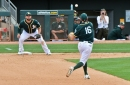 Spring Training Game 7: A's Belittle Giants