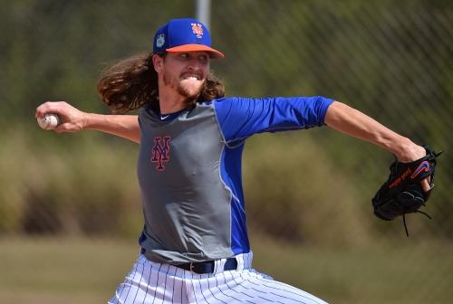 Jacob deGrom makes first Grapefruit League start   Mets lineup vs. Astros