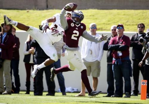 Former A&M receiver Speedy Noil puts up crazy vertical number at NFL combine