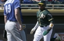 Spring Training Game #8: A's versus Indians