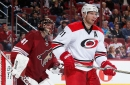 Hurricanes at Coyotes: Projected Lines and Rosters