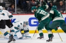 Quick Bite: Sharks leave two points with Wild for safekeeping