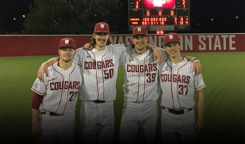 Cougars combine for 1st no-hitter since 1985, sweep SFA
