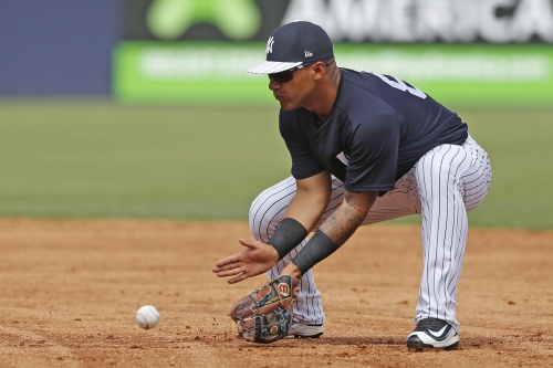 Gleyber Torres' second base audition is as strong as his bat
