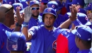 Lester makes spring debut; Cubs tie Rangers in slugfest