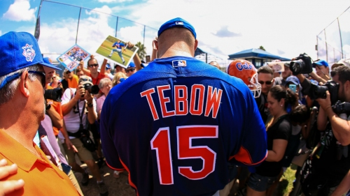 Tim Tebow to make Grapefruit League debut for Mets vs. Red Sox