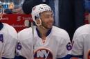 Watch: Joshua Ho-Sang scores 1st NHL goal vs. Edmonton Oilers