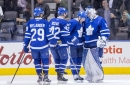Leafs hang on for win over Wings