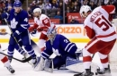 Maple Leafs slip past Red Wings 3-2