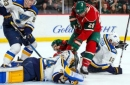 Minnesota held in check by Yeo, Blues