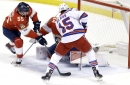 Lundqvist shines and gets unexpected help in Rangers' win