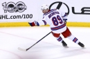 Rangers Vs. Panthers: The Actual Glass Effect