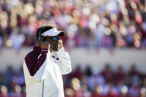 Texas A&M key spring issue No. 3: Tackle replacements, OL need to step up for first-year starting quarterback