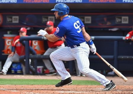 Tebow gets cheered despite rough start in Mets debut