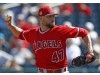 Seven Angels pitchers combine to shut out Reds, 9-0