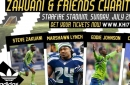 Marshawn Lynch is playing soccer; we came up with a fantasy list of teammates