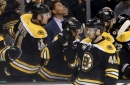 RECAP: Bruins drop Red Wings on strong first period, win 6-1