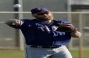 New Rangers starter Cashner shut down for 2nd time in spring The Associated Press