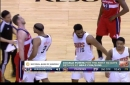Wizards and Suns get into altercation after Jason Smith's hard screen