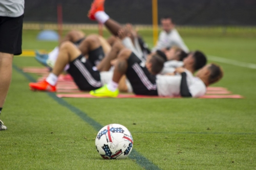 FC Dallas training update ahead of the Sporting KC game