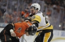 Penguins forward Tom Sestito was suspended 4 games The Associated Press