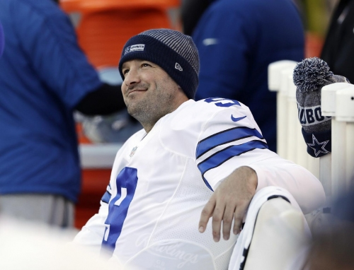 Romo says farewell to fans, but stays with Cowboys for now The Associated Press