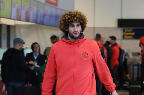 Manchester United midfielder Marouane Fellaini sends Rostov a warning